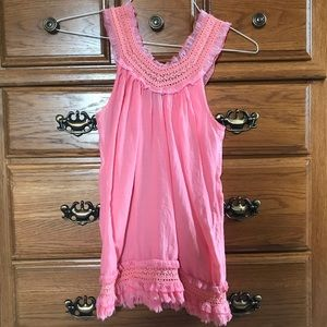 Pink Tank- Size S